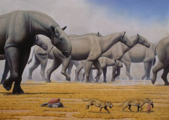 Самые высокие вымершие сухопутные звери